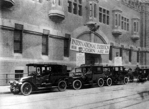 View of 69th Regiment Armory, New York, NY, 1913