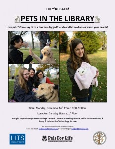 Pets in the Library 2015